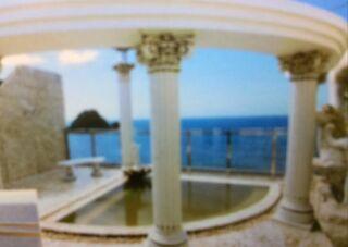 ホテル屋上のお風呂